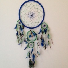 Dreamcatcher blue