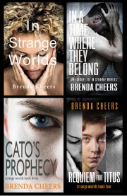 Strange Worlds Series 4 novels med